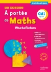 Le Nouvel A portée de maths CM1 - Photofiches + CD ROM - Ed. 2016