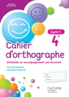 Cahier d'orthographe cycle 4 / 4e - éd. 2016