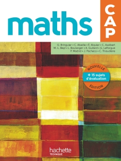 Mathématiques CAP - Livre élève - Ed. 2016