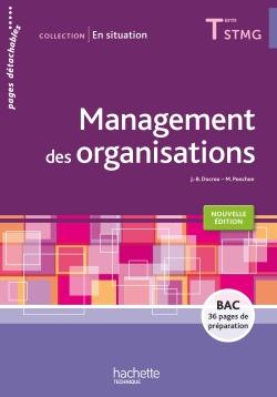 En situation Management des organisations Terminale STMG - Livre élève - Éd. 2016