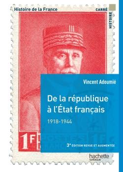 De la république à l'État français 1918-1944