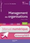 En situation Management des organisations TERM STMG - Manuel numérique enseignant simple - Éd. 2016