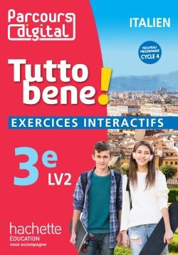 Parcours digital Tutto bene! italien cycle 4 / 3e LV2 - éd. 2017