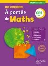 Le Nouvel A portée de maths CE2 - Manuel numérique simple version enseignant - Ed. 2017