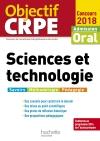Objectif CRPE Sciences et technologie 2018