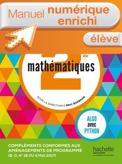 Complément numérique Mathématiques Barbazo 2de - Version enrichie élève - édition 2014