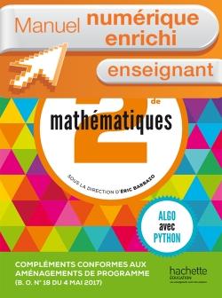 Complément numérique Mathématiques Barbazo 2de - Version enseignant enrichie - édition 2014