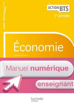 ACTION BTS Économie BTS 1re année - Manuel numérique enseignant - Éd. 2017
