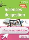 Enjeux et Repères Sciences de gestion 1re STMG - Manuel numérique élève - Ed. 2017