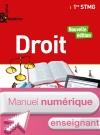 Enjeux et Repères Droit 1re STMG - Manuel numérique enseignant - Ed. 2017