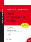 Les Fondamentaux - Mémento de la jurisprudence Droit International Public