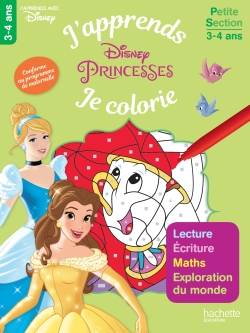 Les Princesses J'apprends tout en coloriant PS
