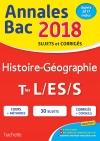 Annales Bac 2018 Histoire-Géo Term L/Es/S