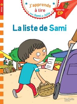 Sami et Julie CP Niveau 1 La liste de Sami