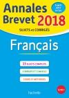 Annales Brevet 2018 Français
