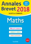 Annales Brevet 2018 Maths