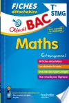Objectif Bac Fiches détachables Maths Term STMG