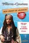 Mon carnet de vacances Pirates des Caraïbes du CM1 au CM2