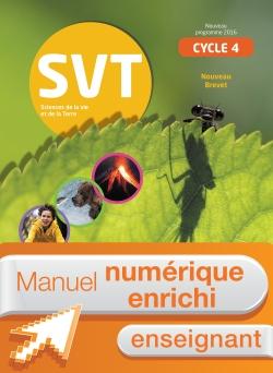 Manuel numérique SVT cycle 4 / 5e, 4e, 3e - Licence enrichie enseignant - éd. 2017