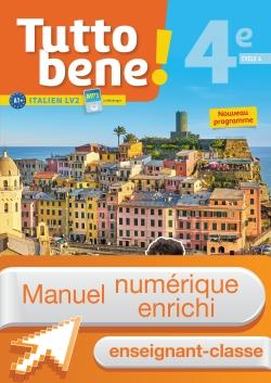 Manuel numérique Tutto bene! italien cycle 4 / 4e LV2 - Licence enrichie enseignant - éd. 2017