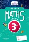 Cahier de maths Mission Indigo 3e - éd. 2017