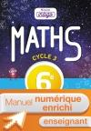 Manuel numérique Mission Indigo mathématiques cycle 3 / 6e - Licence enrichie enseignant - éd. 2017