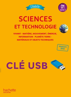 Citadelle Sciences CM - Clé USB - Ed. 2018