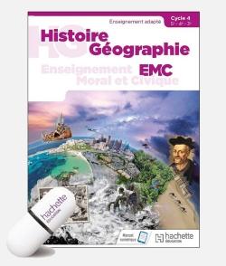 Histoire - Géographie - EMC SEGPA Cycle 4 - Clé USB Enseignant - Éd. 2018