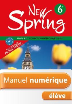 Manuel numérique Anglais New Spring 6e - Licence élève - Edition 2006