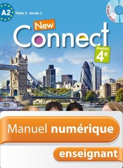 Manuel numérique anglais New Connect 4e - Licence enseignant - Edition 2013