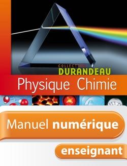 Manuel numérique Physique-Chimie 4e - Licence enseignant  - Edition 2007