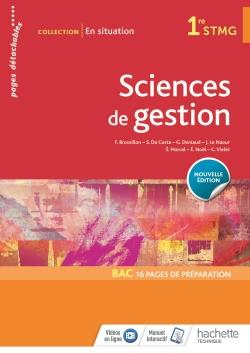 En situation Sciences de gestion 1re STMG - Livre élève - Éd. 2018