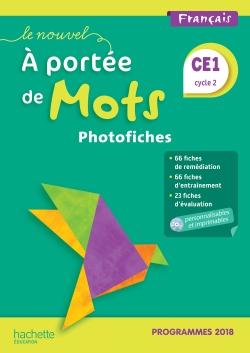 Le Nouvel A portée de mots CE1 - Photofiches + CD - Edition 2019