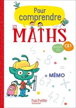 Pour comprendre les maths CE1 - Fichier numérique élève - Ed. 2018