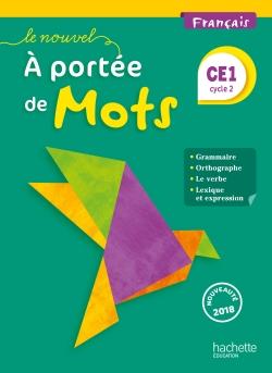 Le Nouvel A portée de mots - Français CE1 - Manuel num enseignant - Ed. 2018