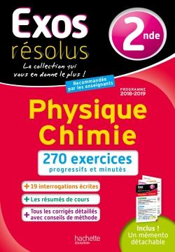 Exos Résolus Physique Chimie 2nde