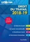Top'Actuel Droit Du Travail 2018-2019