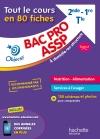 Fiches Bac pro ASSP Nutrition-Alimentation