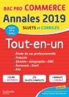 Annales Bac 2019 Tout-en-un Bac Pro Commerce