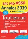 Annales Bac 2019 Tout-en-un Bac Pro ASSP