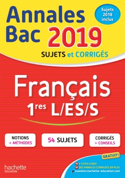 Annales Bac Français 1ères L-ES-S