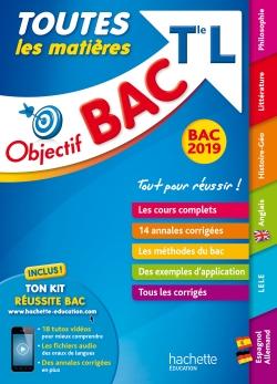 Objectif Bac 2019 Toutes les matières Tle L