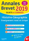 Annales Brevet 2019 Histoire-Géographie-EMC