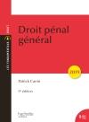 Droit pénal général 2019 (9e édition)