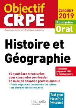 CRPE en fiches : Histoire Géographie 2019