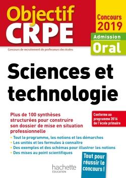 CRPE en fiches : Sciences et technologie 2019