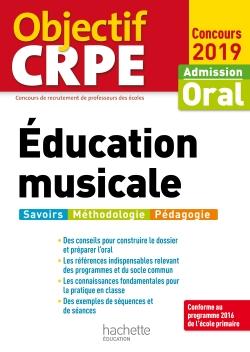 Objectif CRPE Éducation musicale 2019