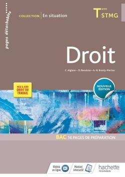 En situation Droit Tle STMG - Livre élève - Éd. 2018