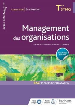 En situation Management des organisations Tle STMG - Livre élève - Éd. 2018