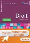 En situation Droit 1re STMG - Manuel interactif élève - Éd. 2018